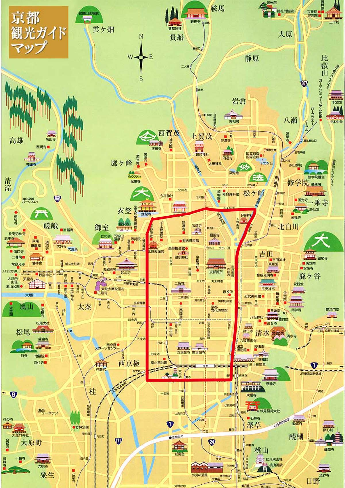 紅葉の時期、京都の町は外人だらけ、そしてはホテルは取りづらい。